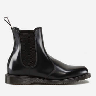 e5ee0e9fe287 Dr. Martens Women s Flora Polished Smooth Leather Chelsea Boots - Black