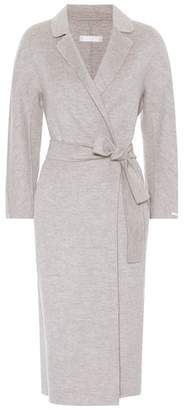 Max Mara S Giungla wool and angora coat