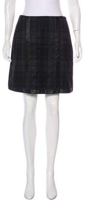 Ralph Lauren Black Label Wool Mini Skirt w/ Tags