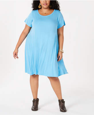 Style&Co. Style & Co Plus Size A-Line Dress