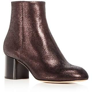 Rag & Bone Women's Drea Crackled Nubuck Leather Block Heel Booties - 100% Exclusive