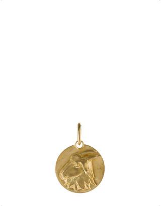 Annoushka Mythology Capricorn 18ct yellow-gold pendant, yellow