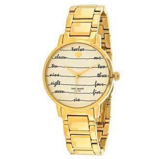 Kate Spade Women's Gramercy Watch Quartz Mineral Crystal KSW1060