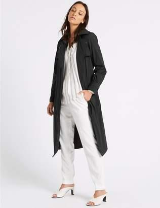 Marks and Spencer Stretch Trench Coat with Stormwear