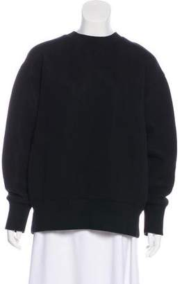 Sacai Oversize Split Neck Sweatshirt