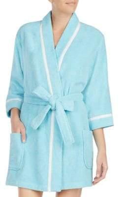 Kate Spade Do Not Distrurb Short Robe