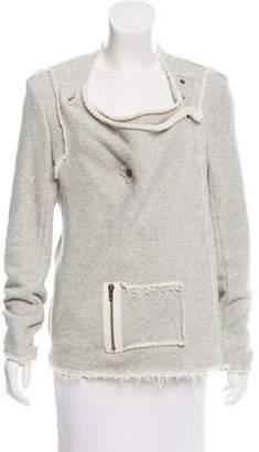 DREW Asymmetrical Long Sleeve Jacket