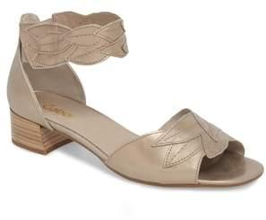 Gabor Leaf Ankle Strap Sandal