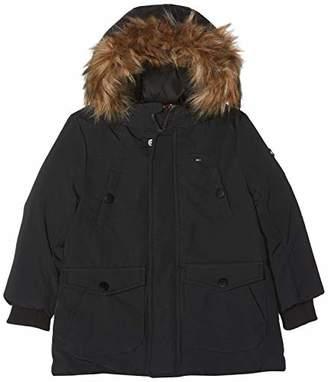 Tommy Hilfiger Baby Boys Arctic Parka Jacket, Black (Tommy 014)