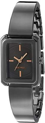 Nine West Women's NW/1915GNRT Bangle Watch