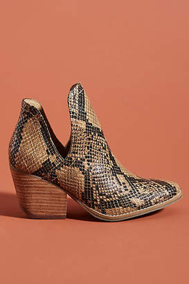Matisse Snake Ankle Boots