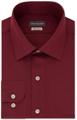 Van Heusen Men Classic-Fit Micro Houndstooth Dress Shirt