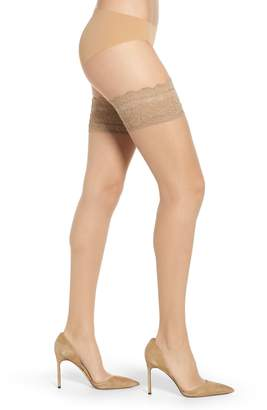 Nordstrom Lace Trim Thigh High Stockings