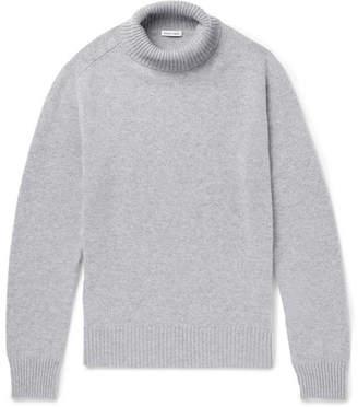 Tomas Maier Mélange Cashmere Rollneck Sweater