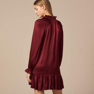 Sandro Short dress with little ruffles