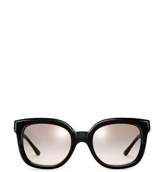 Tory Burch Modern-T Cat-Eye Sunglasses
