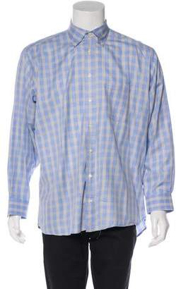 Burberry Check Casual Shirt