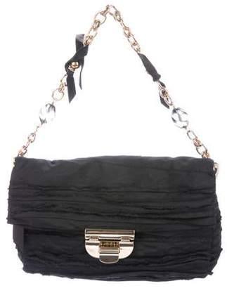 Nina Ricci Woven Handle Bag