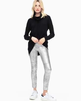 Splendid Metallic Faux Leather Leggings