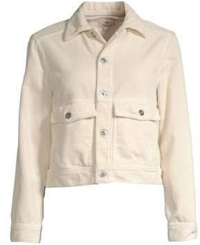AG Jeans Evonne Cropped Corduroy Jacket