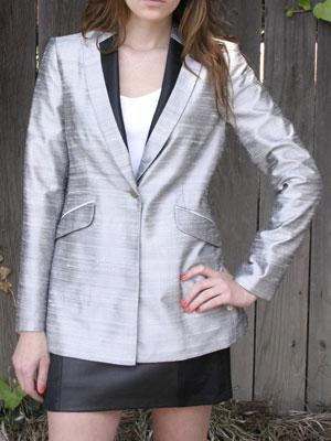 RAG & BONE Silk-dupioni blazer