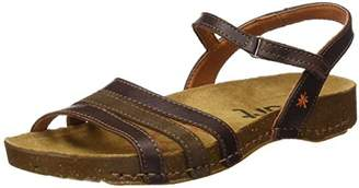 Art Women's 0998 0998 Memphis I Brea Sandals with Ankle Strap, Brown, 4 UK