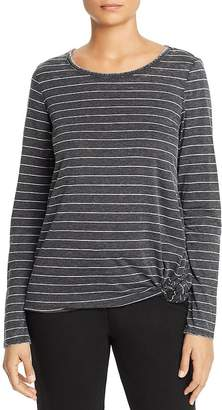 Andrew Marc Knotted Long-Sleeve Tee