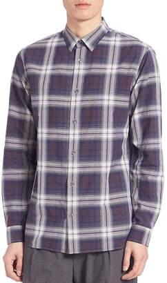 Vince Men's Plaid Melrose Shirt
