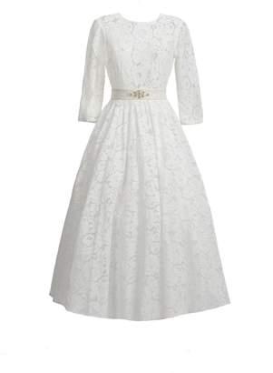MATSOUR'I - Lace Dress Viktoria White
