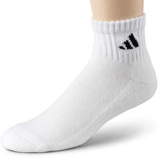 adidas Men's 6-pk. Athletic Cushioned Quarter Socks - Extended Sizes