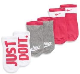 Nike Performance 3-Pack No-Show Socks