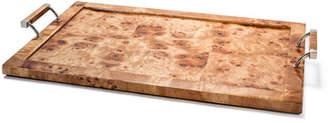 LADORADA Burl Veneer Large Tray