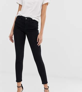 Stradivarius skinny low waist jean in black