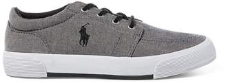 Ralph Lauren Faxon II Chambray Trainer