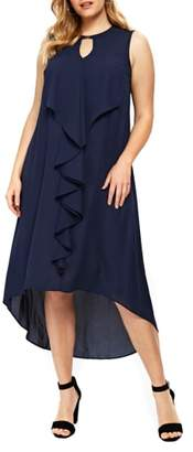 Evans High/Low Ruffle Dress