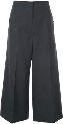 Lemaire wide leg cropped trousers