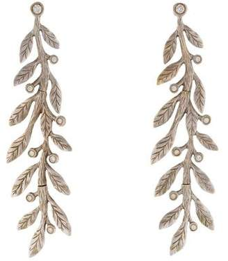Jamie Wolf Diamond Laurel Branch Earrings