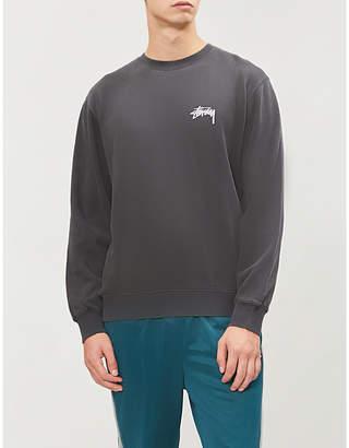 Stussy Graphic logo-back cotton-blend jumper