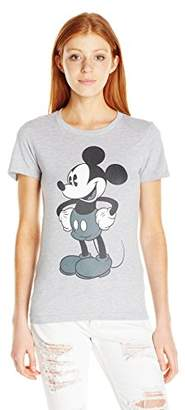 Disney Women's Tonal Mickey Graphic Tee $18 thestylecure.com