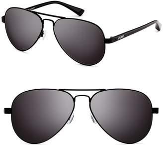 MVMT Runway 60mm Polarized Aviator Sunglasses