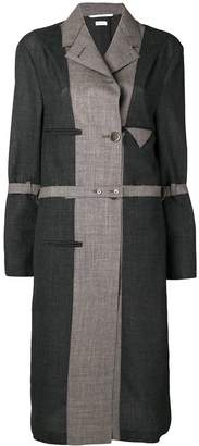 Thom Browne Chesterfield-Lined Wool Overcoat