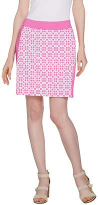 C. Wonder Trellis Print Pull-On Skort with Pockets