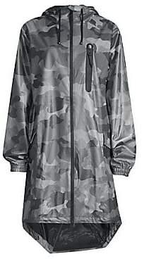 Rains Women's Camo-Print Raincoat