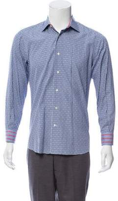 Etro Printed Dress Shirt