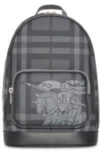 Burberry Equestrian Knight Tartan Backpack