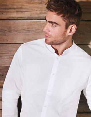 Boden Grandad Collar Shirt