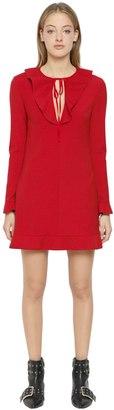 RED Valentino Stretch Cady Mini Dress
