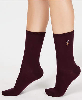 Polo Ralph Lauren Women's Classic Flat Knit Socks