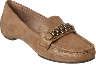 Donald J Pliner Fatema Chain Leather Loafer