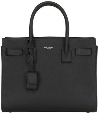 Saint Laurent Baby Sac De Jour Leather Top Handle Bag